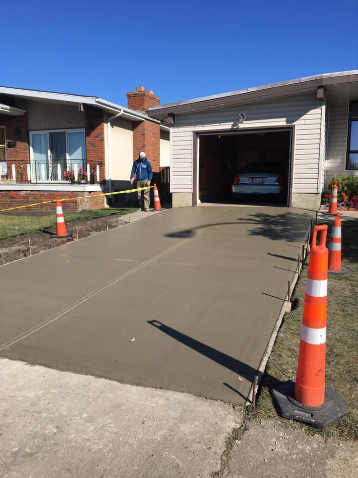 Garage Concrete Pad Replacement 2